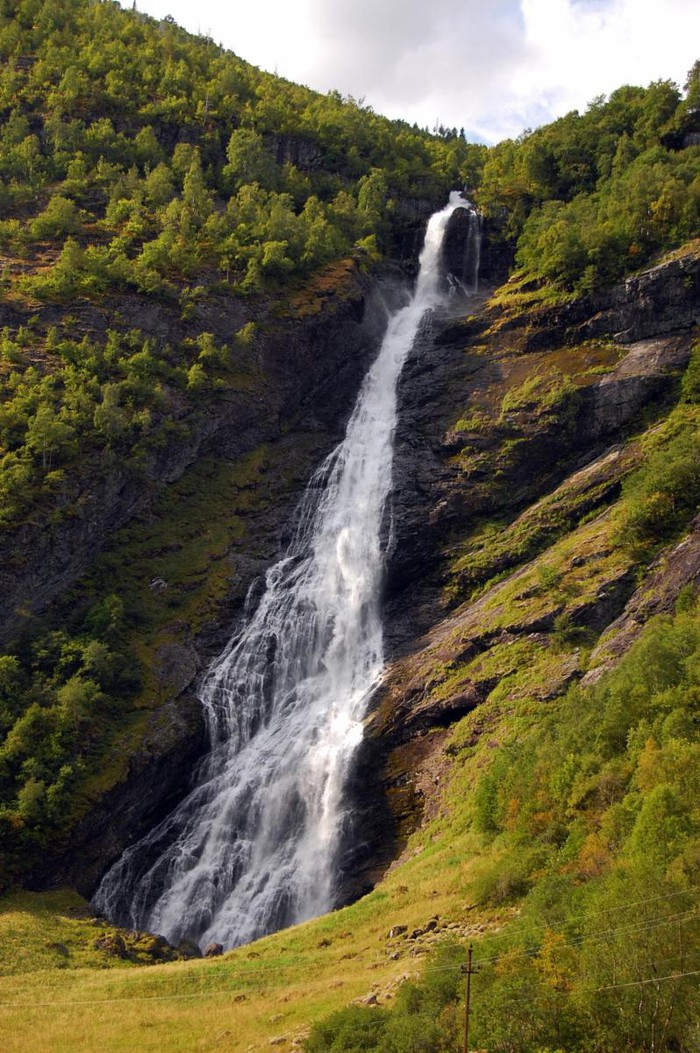 Photo of Ventifossen waterfall