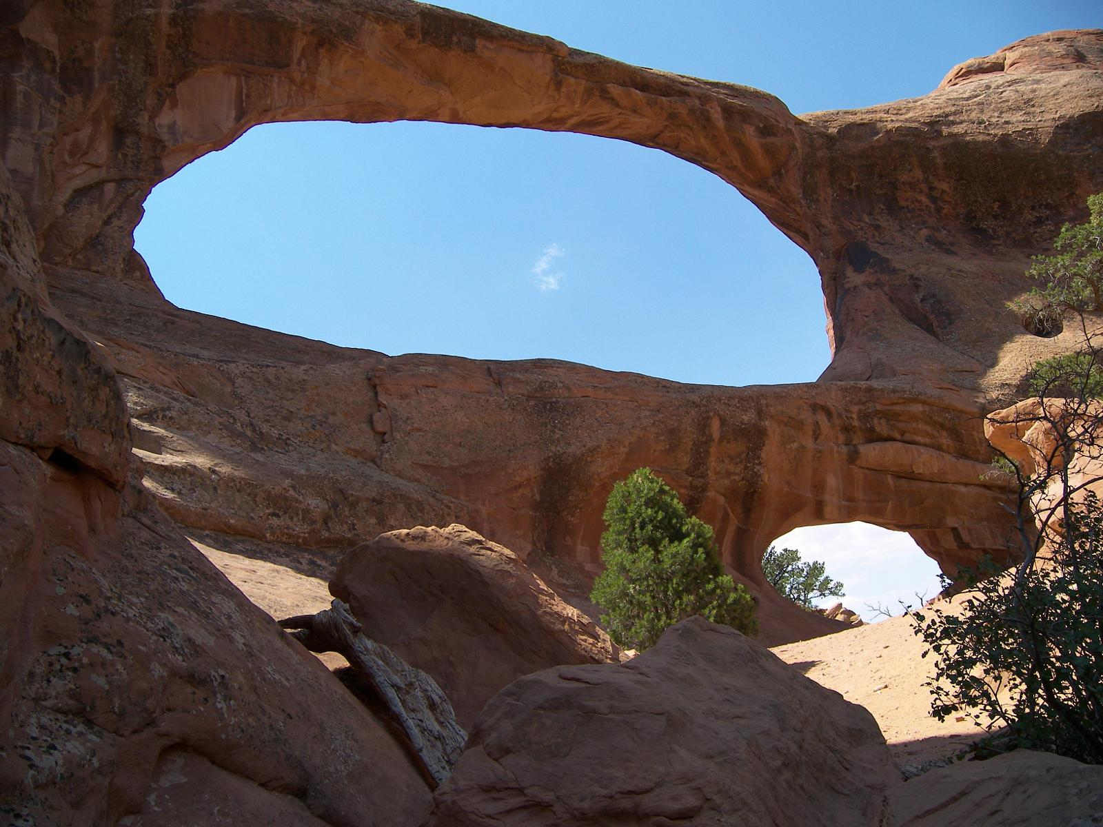 Photo of Arches Nat. Park-Double O Arch