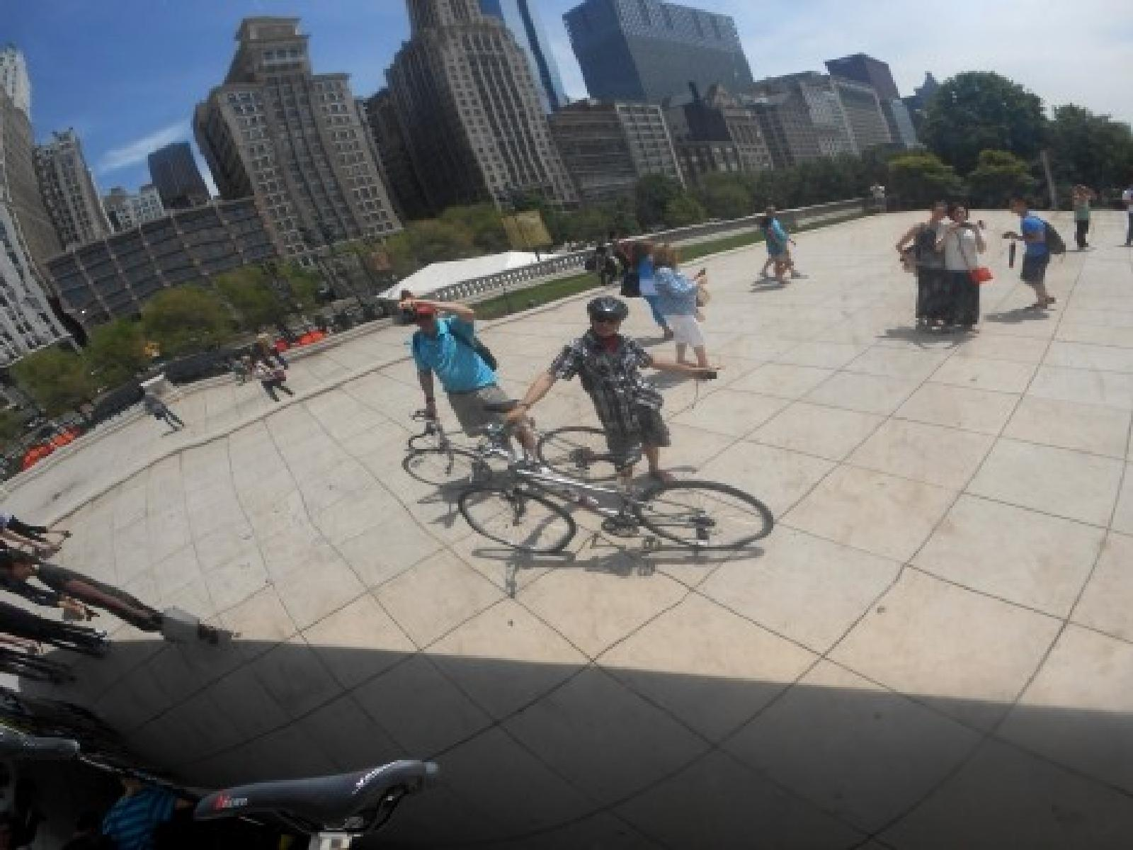 Fotoğraf Cycling - Chicago Lakefront Trail