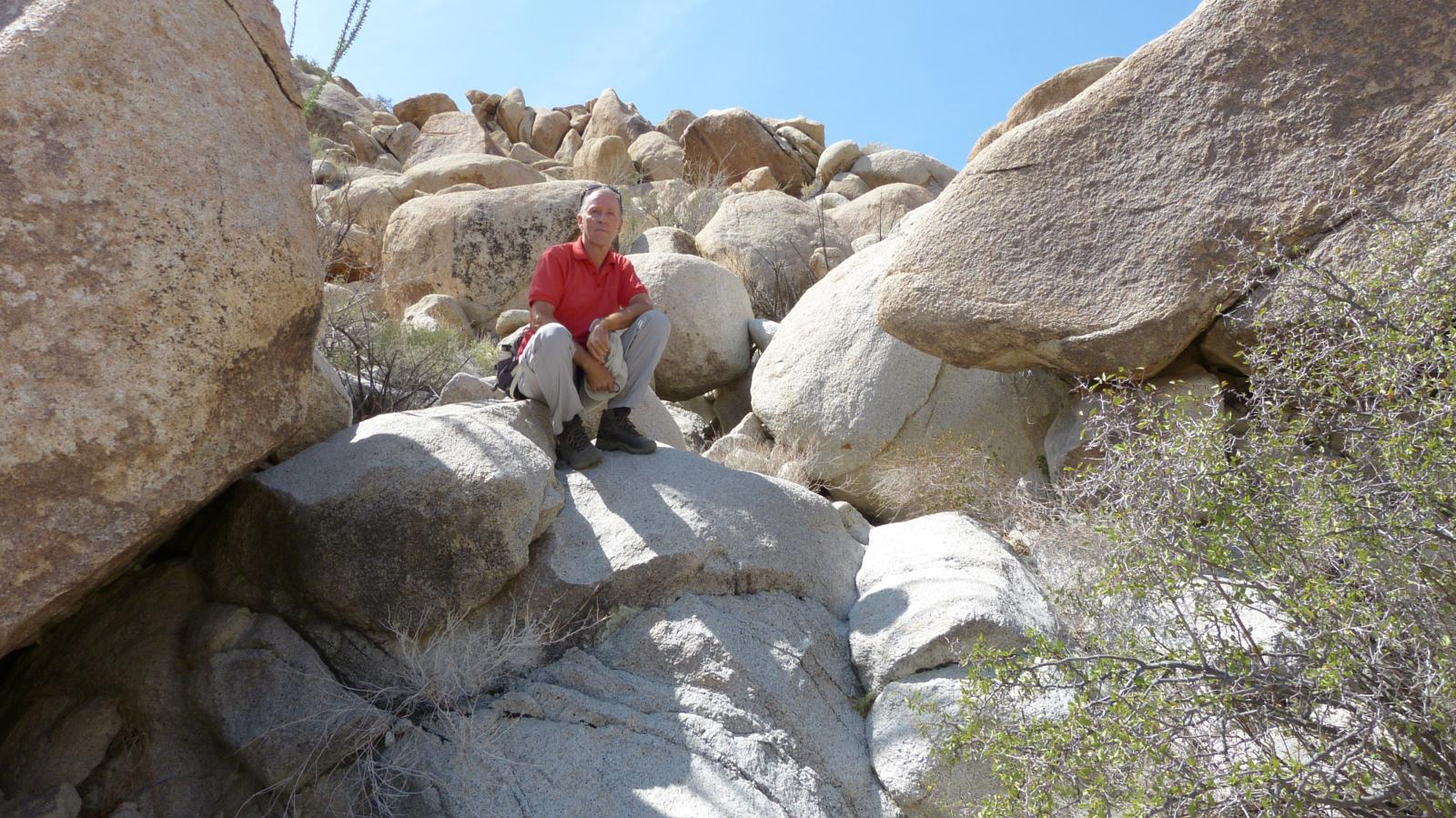 Foto van California - Borrego Springs - Indian valley - Torote canyon loop