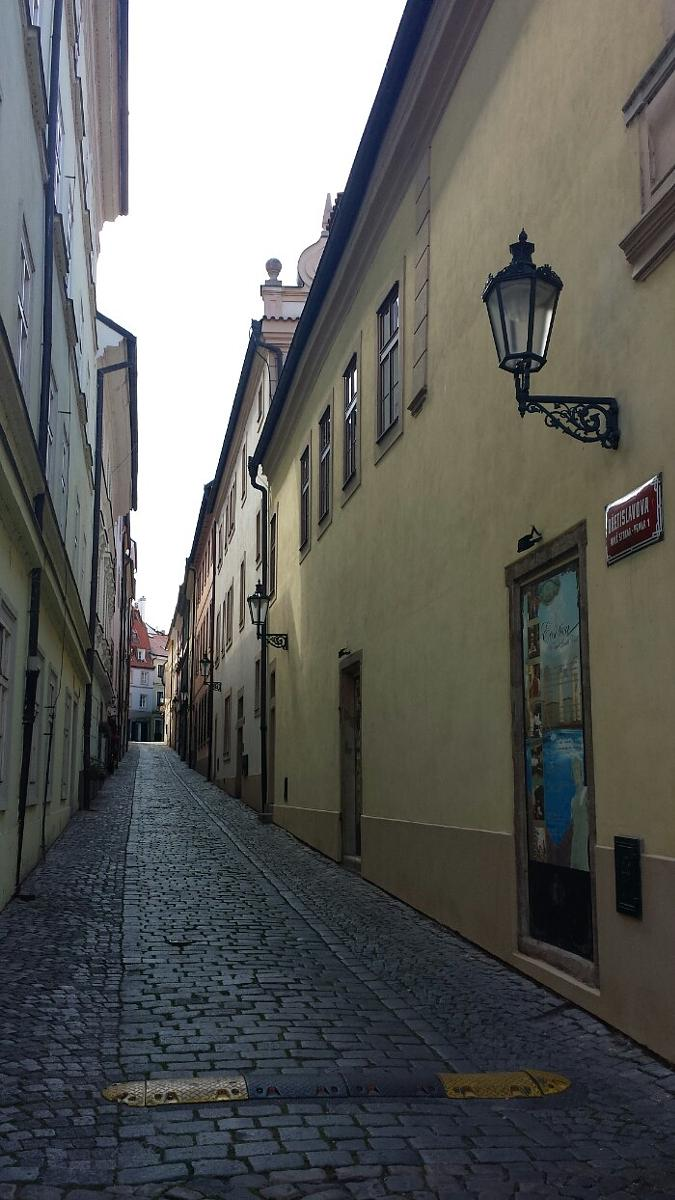 Фото Prague 's calm places - avoiding main touristic lanes