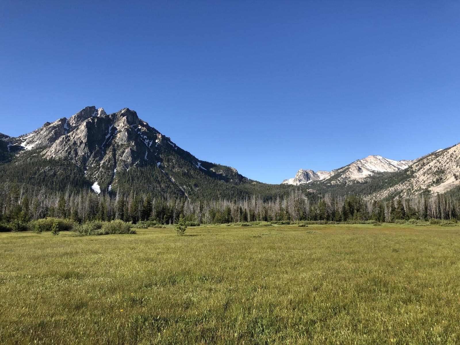 Foto de Idaho Centennial trail day 12: From valley below McGown Peak to exit road to Stanley