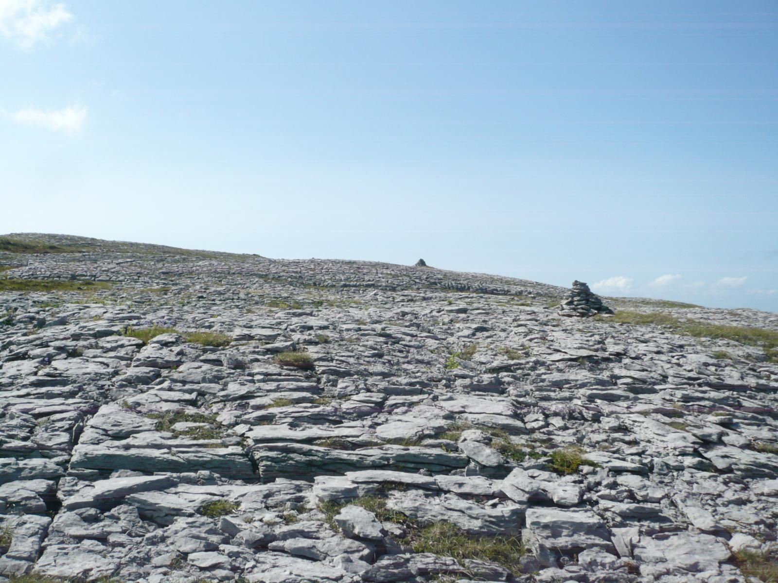 mynd af Irlanda-The Burren-Gleninagh-Cathair Dhuin Irghuis-Black Head