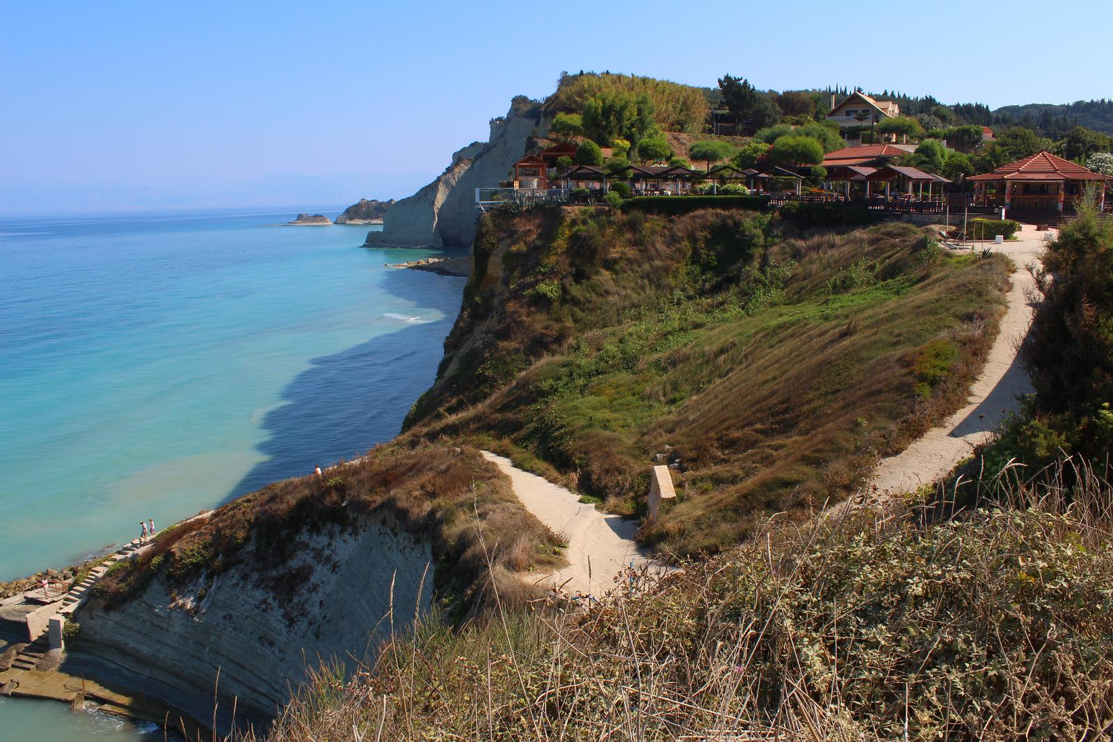 Foto de Best scenic places to visit tour in NW Corfu. Beaches/Cafes/Great Scenery