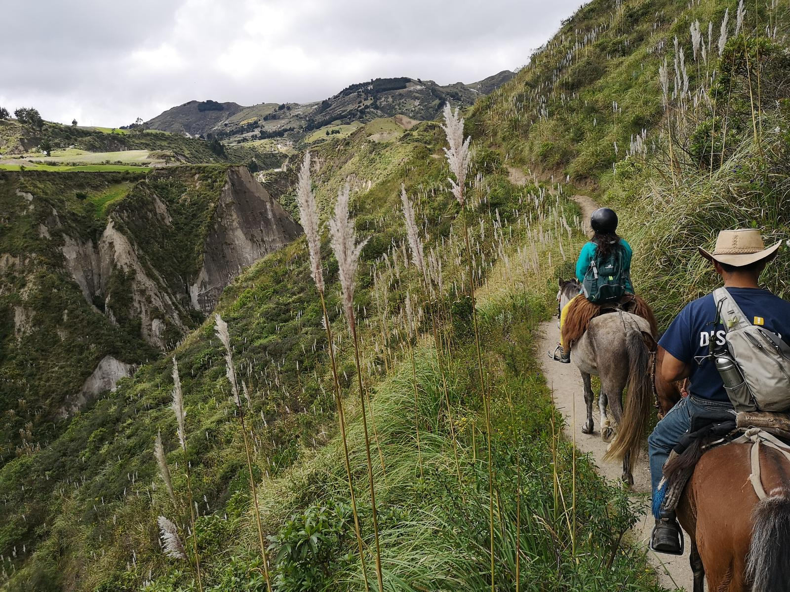 mynd af Chugchilán to Quilotoa by horse