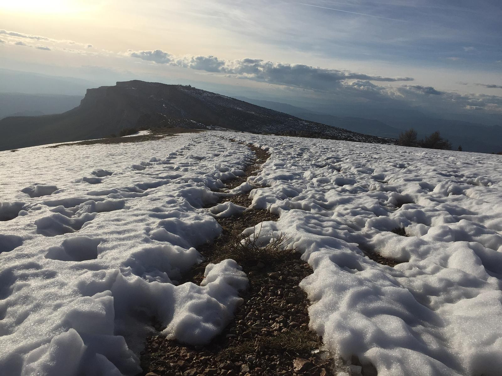 Photo of Montsec d'Ares nevat abril 2018