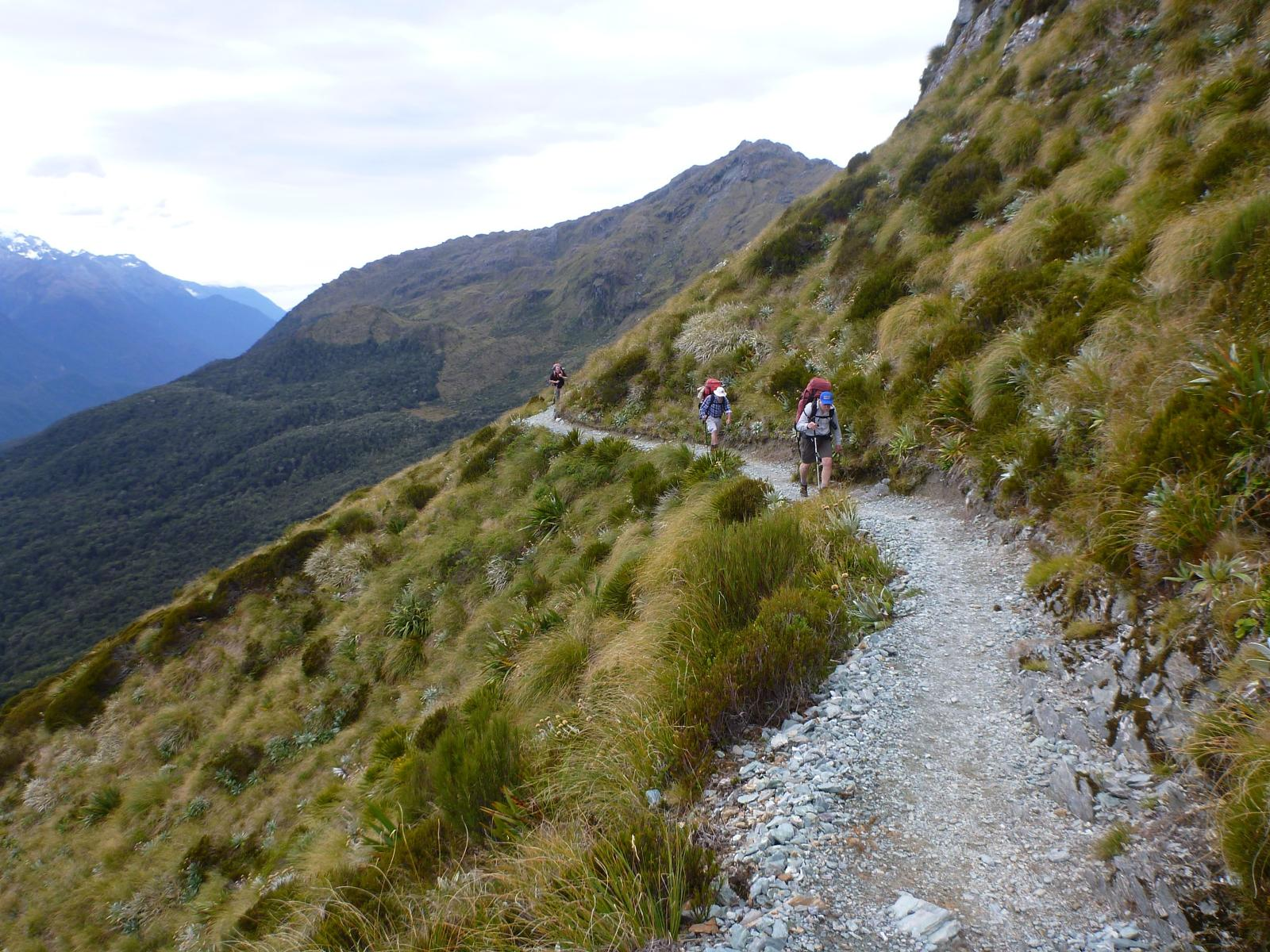 Слика од Routeburn Track, Dore Pass and Milford Track