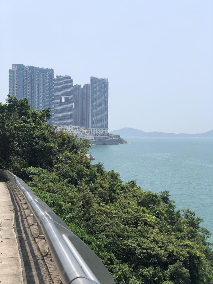 Photo of Pokfulam reservoir to High West then to Cyberport