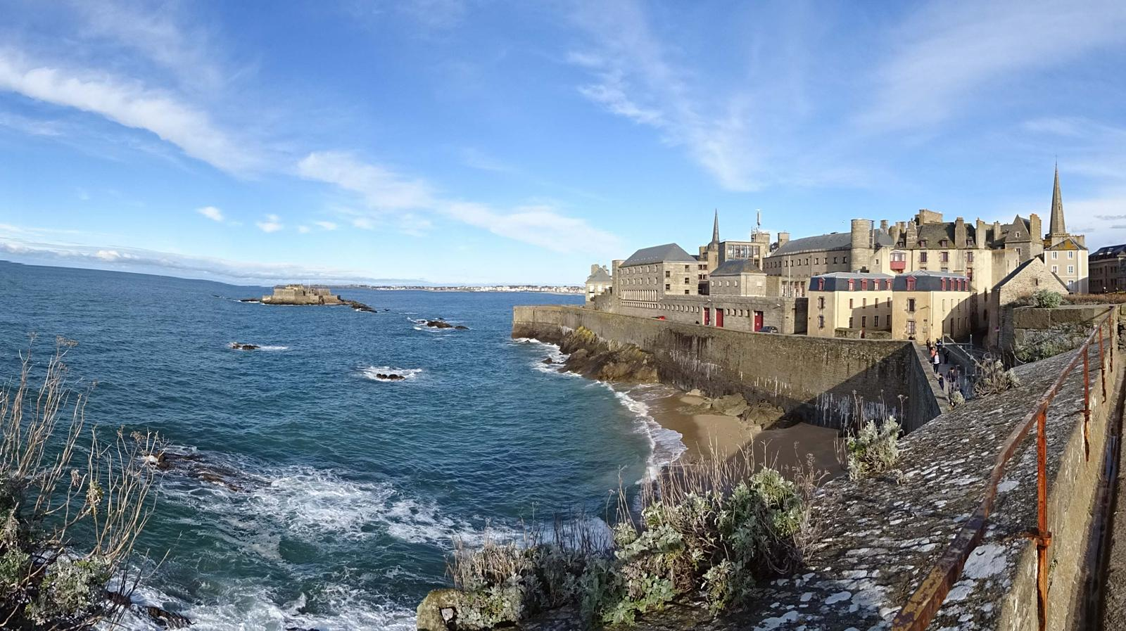 Photo de Saint Malo intramuros desde muralla