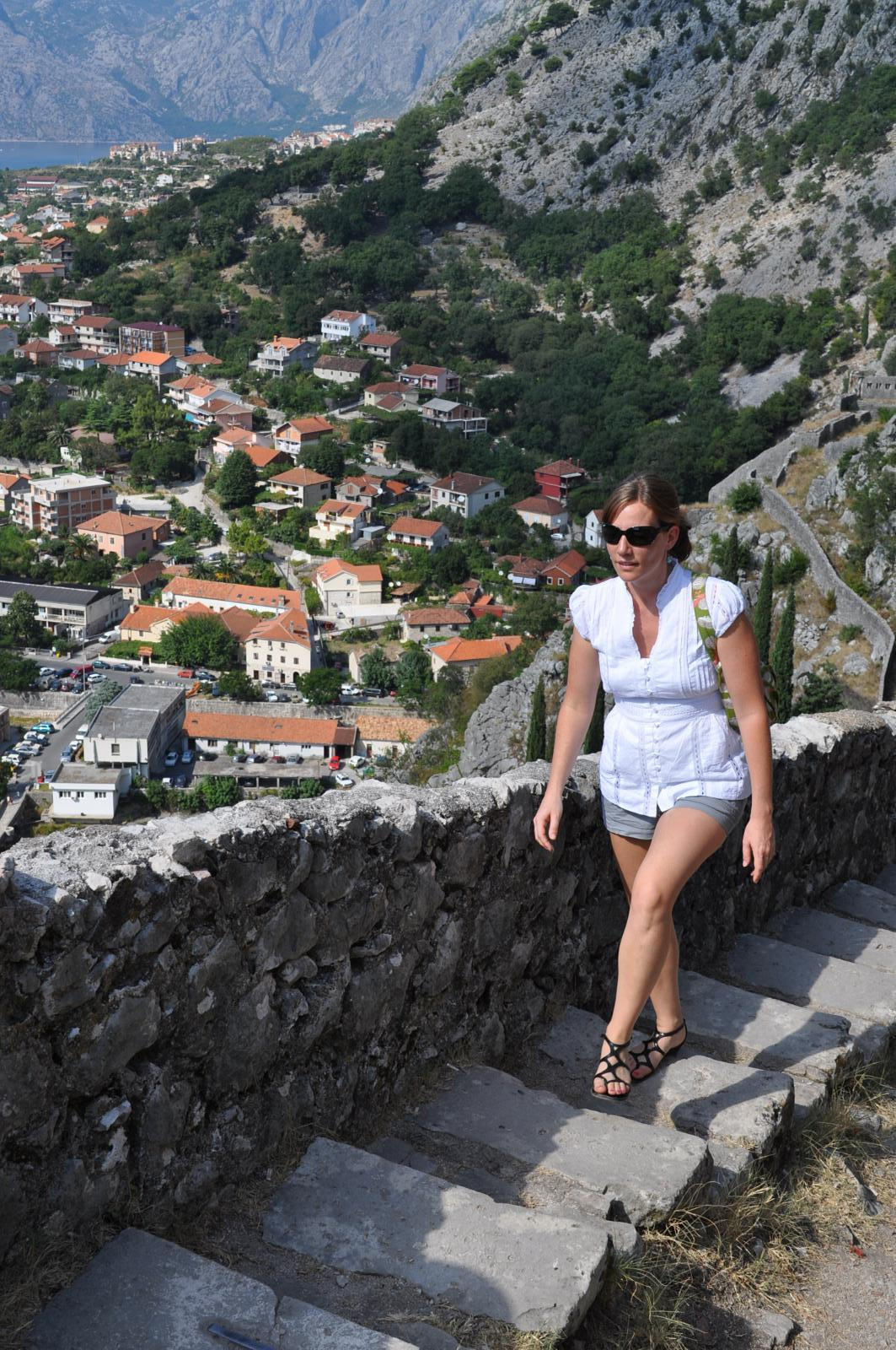 Photo de Montenegro - Bay of Kotor - Stepped Trail up to Castle of St. John (Castel San Giovanni)