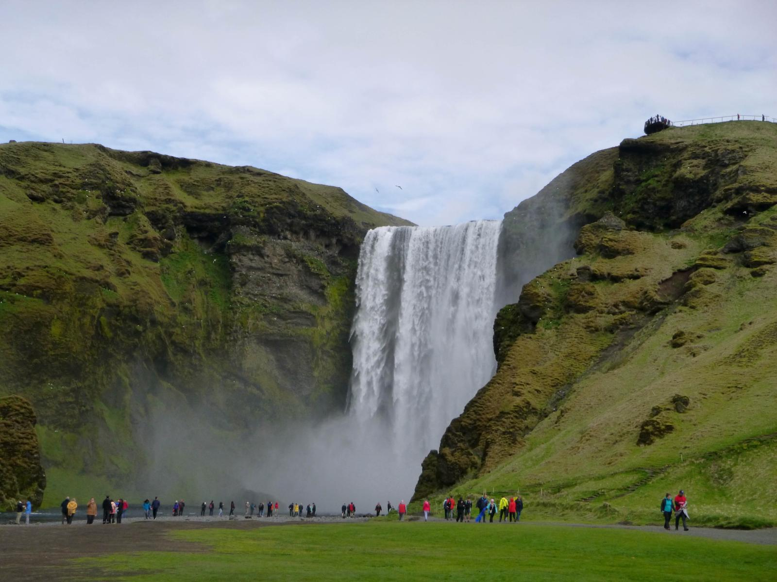 Photo of CASCATA SKÓGAFOSS (SKÓGAFOSS WATERFALL)