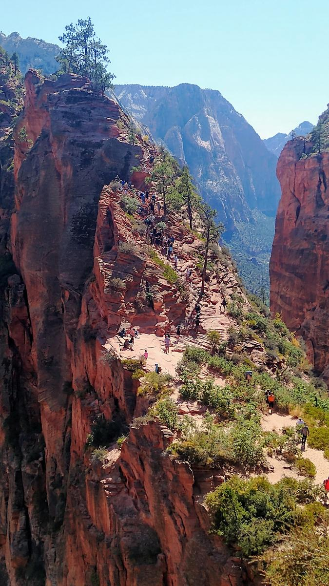 Photo de Angels Landing - Zion National Park - Utah - USA