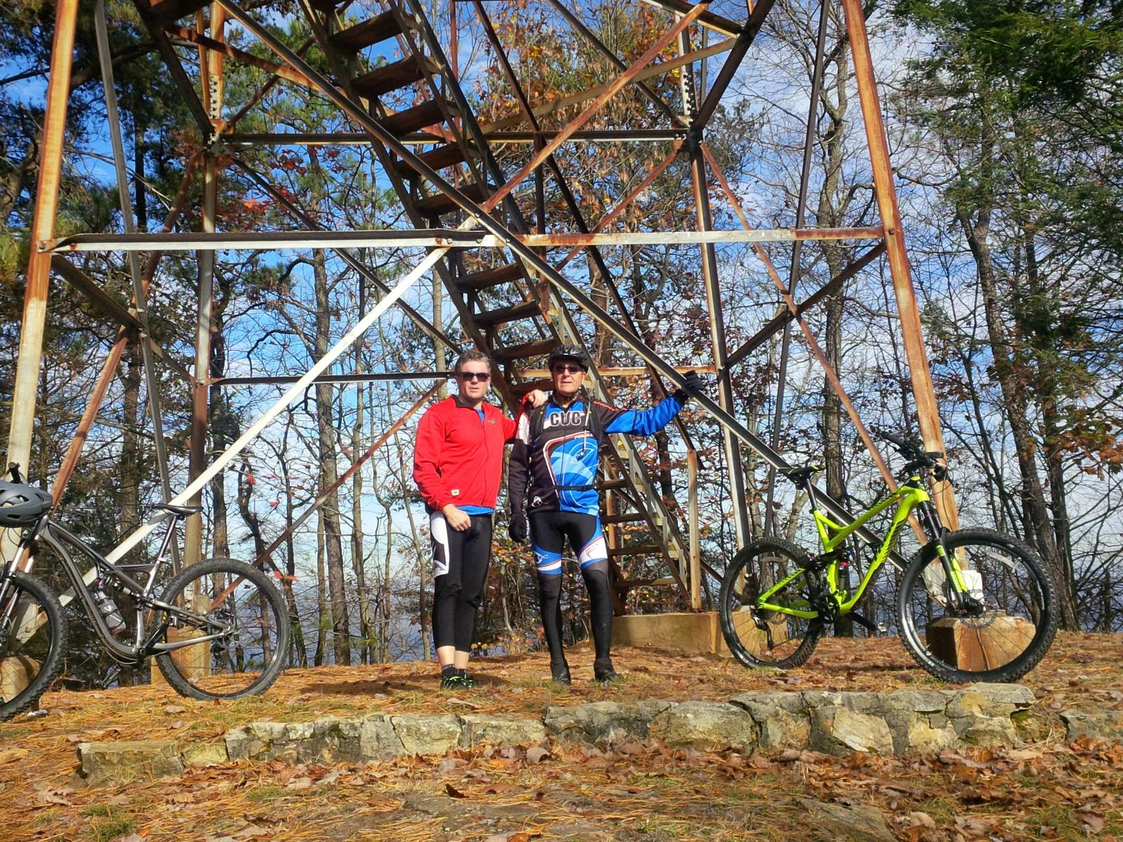 argazkia kingsport-bays mountain park trail-kingsport tennessee 11-11-15