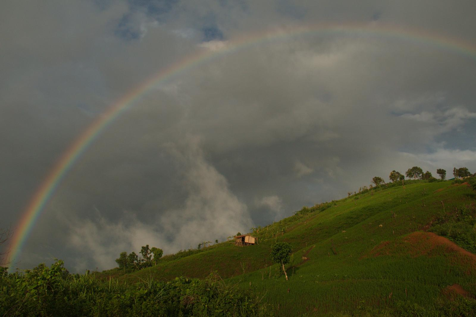 Foto di VIEW POINT OF DOUBLE RAINBOW