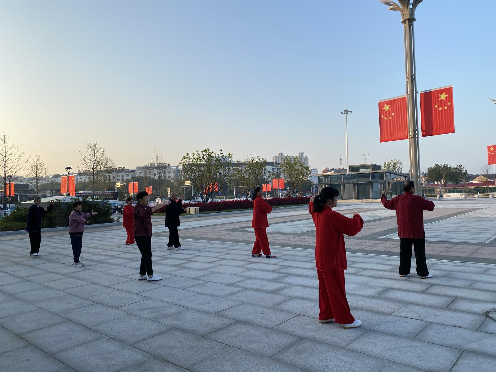 Foto von broad will temple and jingting hills loop xuancheng anhui