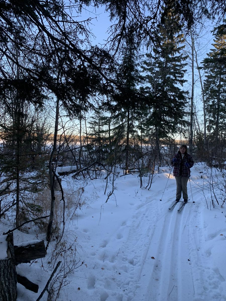 Foto de Candle Lake Bay Lake Cross-Country Ski and Hiking Trail