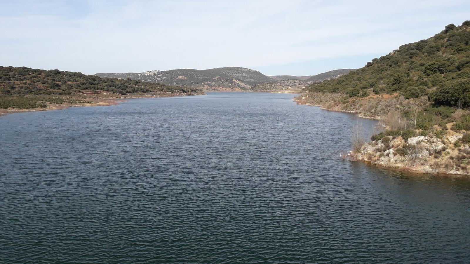 Photo of Santamera, cañón del río Salado los buitres y el embalse del Atance