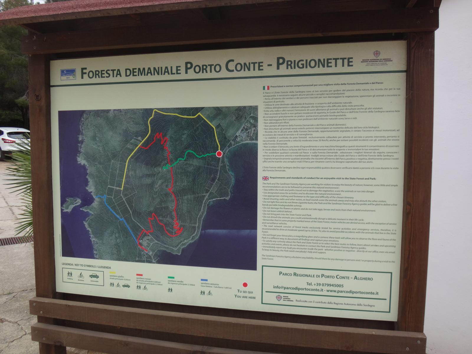 mynd af Porto Conte and Monte Timidone 17 km