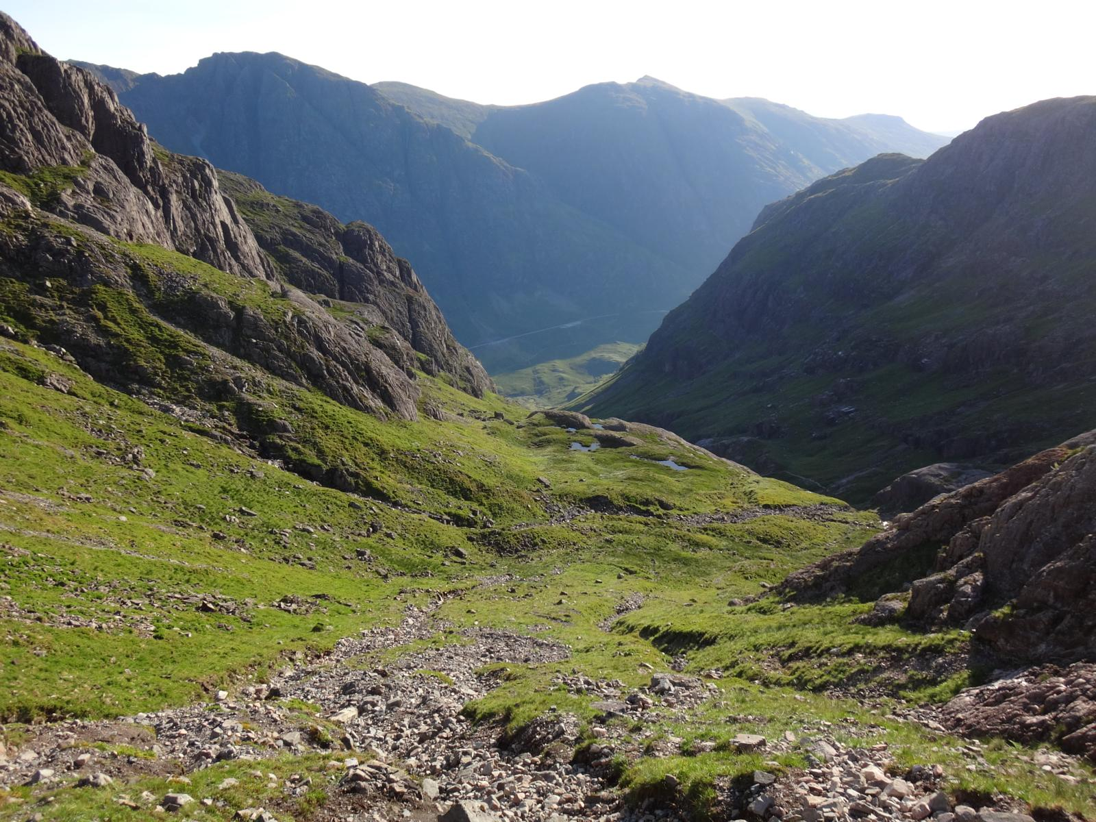 Foto de Bidean nam Bian and Lost Valley 12 km