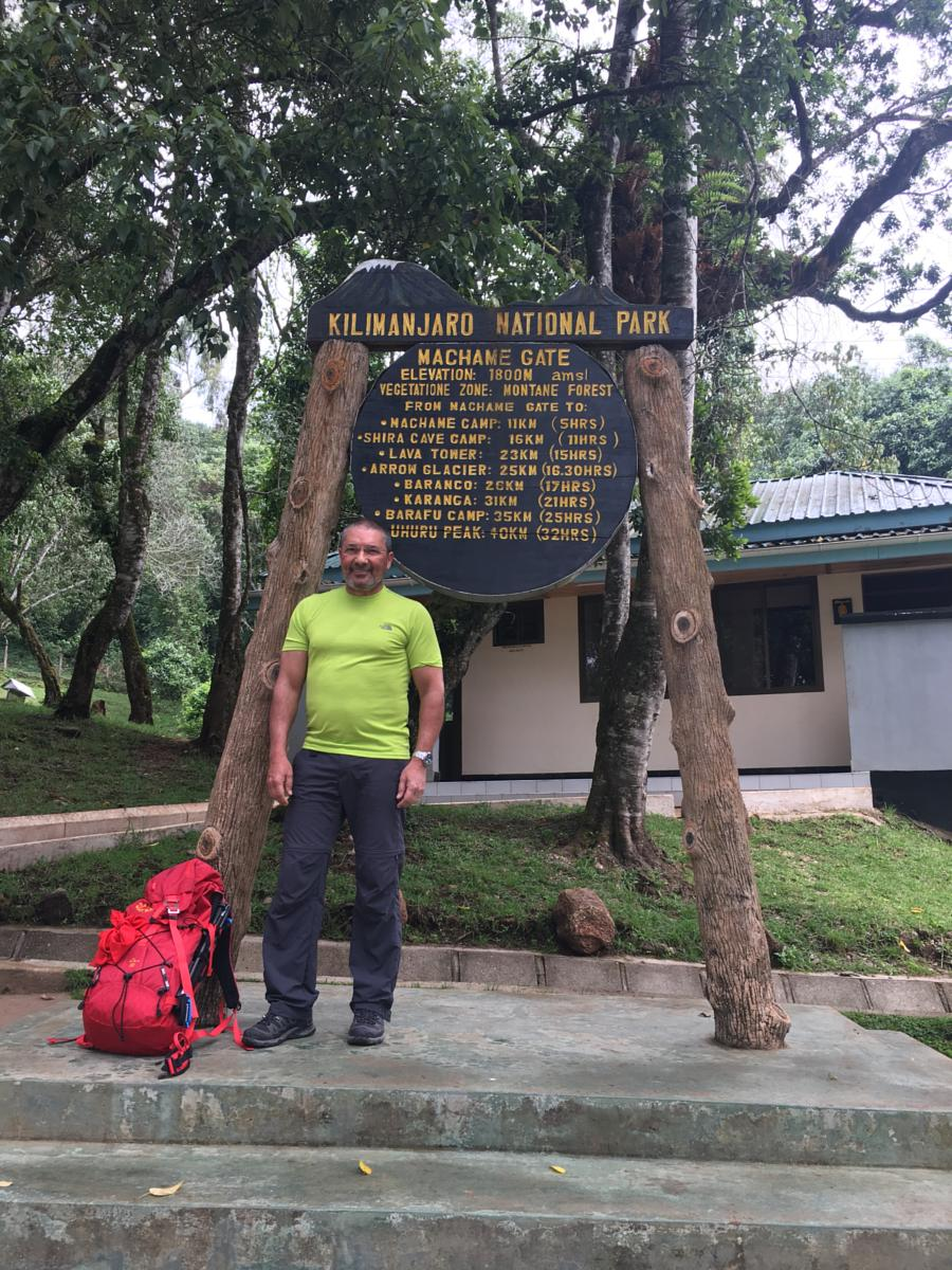 Foto de Machame Gate to Machame Camp