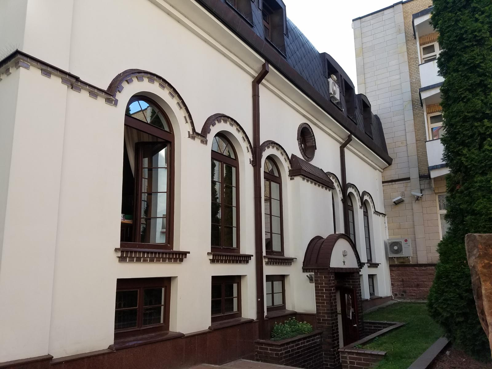 Photo of Old synagogue from poor ghetto chanajki