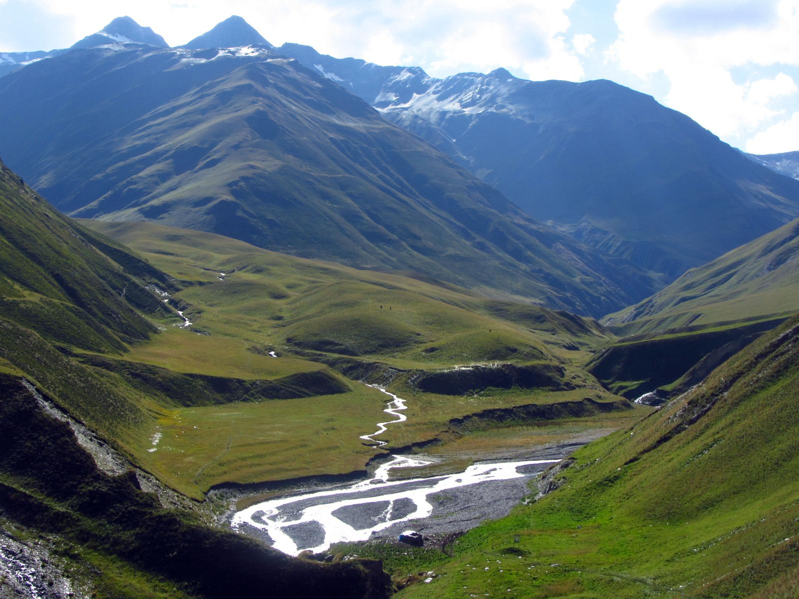 Zdjęcie From Omalo to Shatili (Tusheti region to Khevsureti)