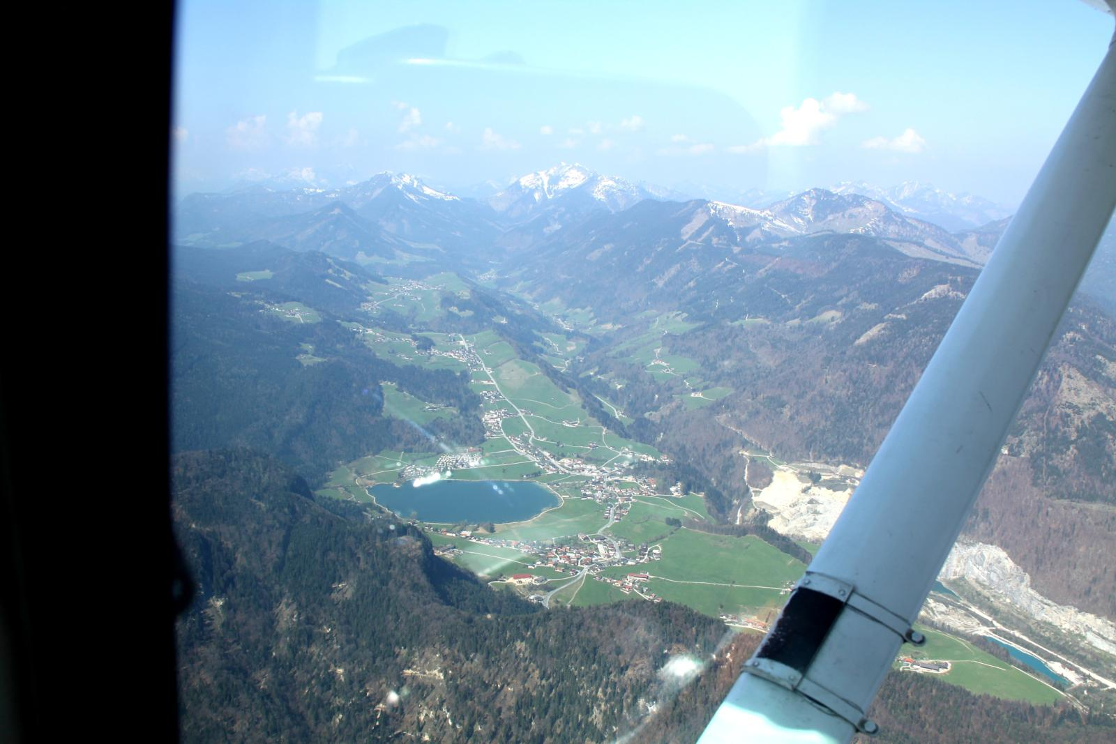 Foto de Flight from Roudnice(CZ) to Zell am See (AT)