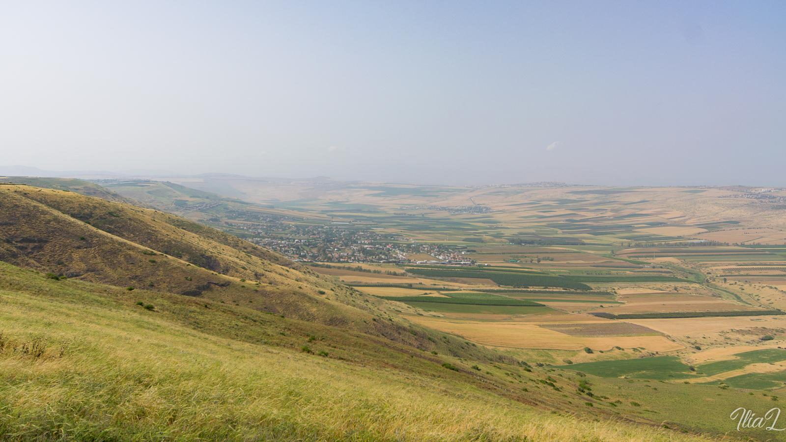 Photo of Levi Eshkol viewpoint
