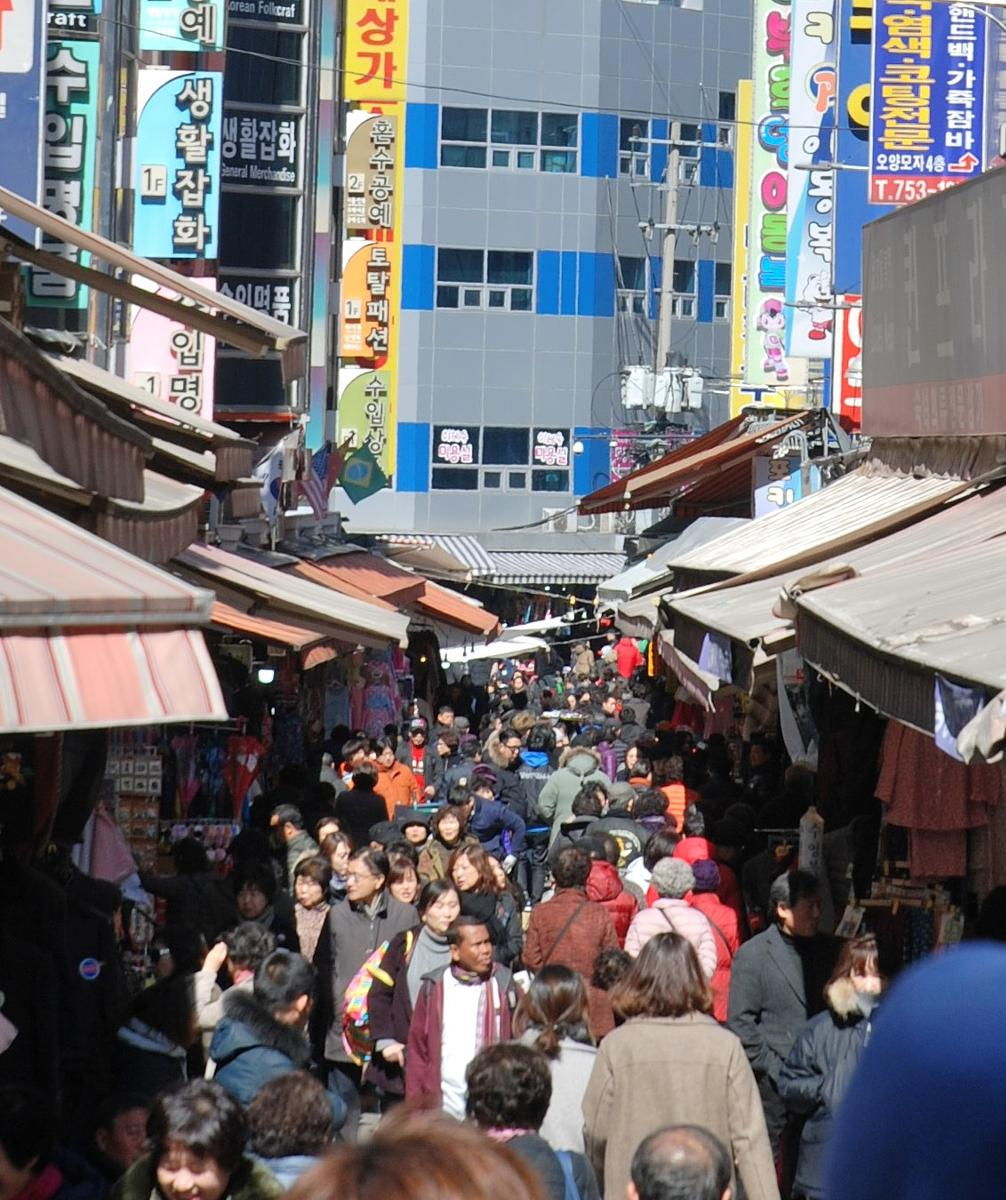 Foto van Seoul, South Korea - Traditional Markets and Food Streets