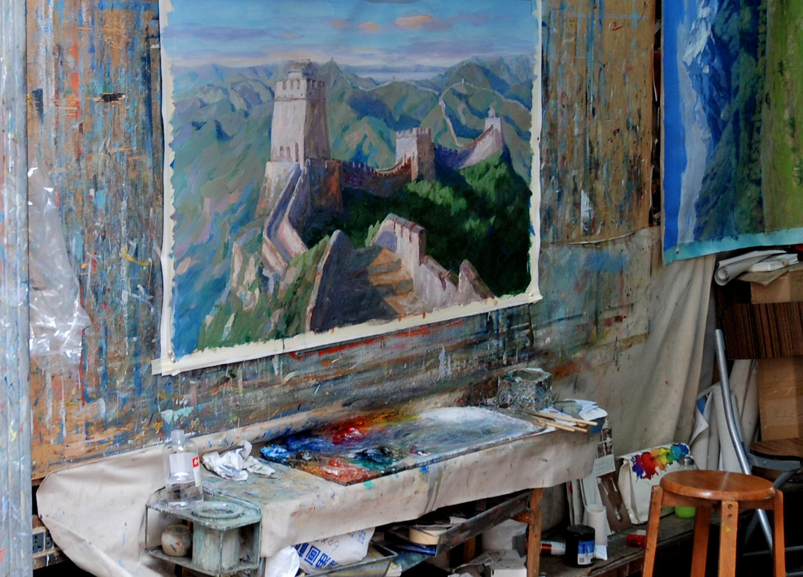 Photo of Dafen Oil Painting Village, Shenzhen, Guangdong Province, PRC