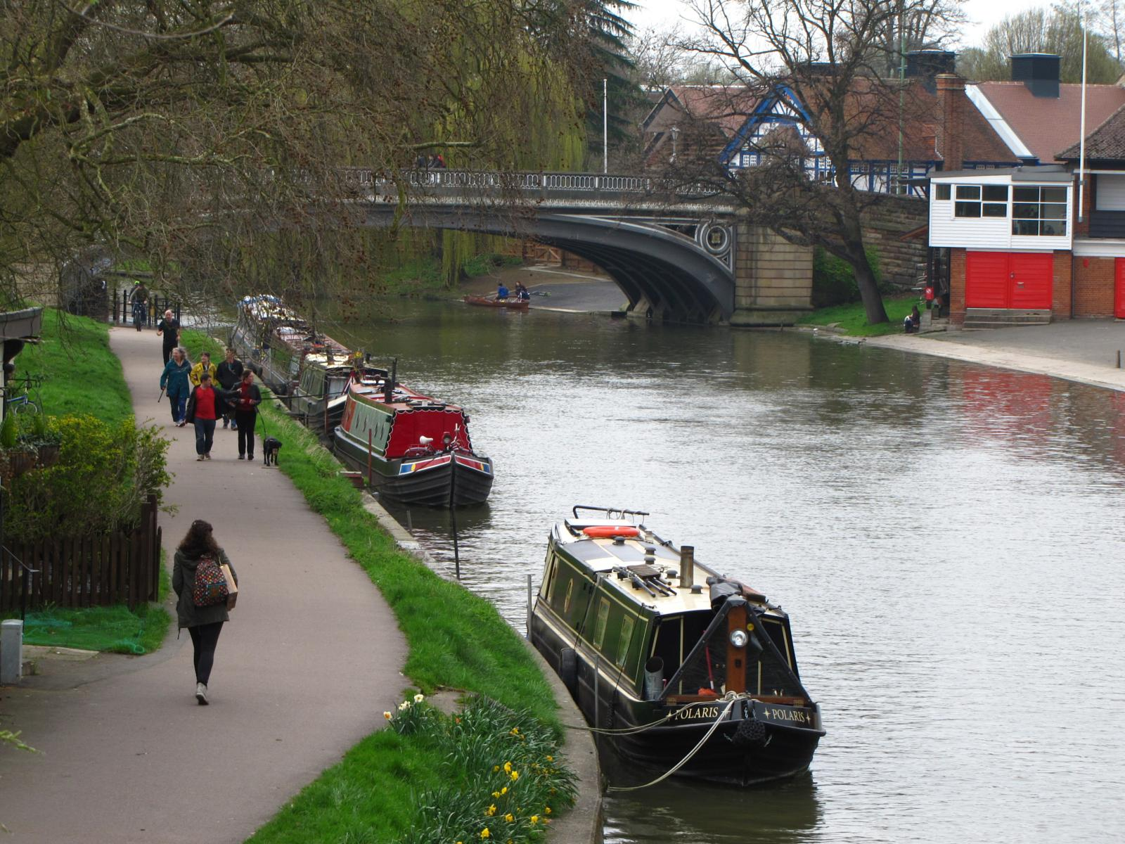 Photo of Cambridge Longer Walk.
