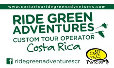 Costa Rica Ride Green Adventures by Pericos MTB
