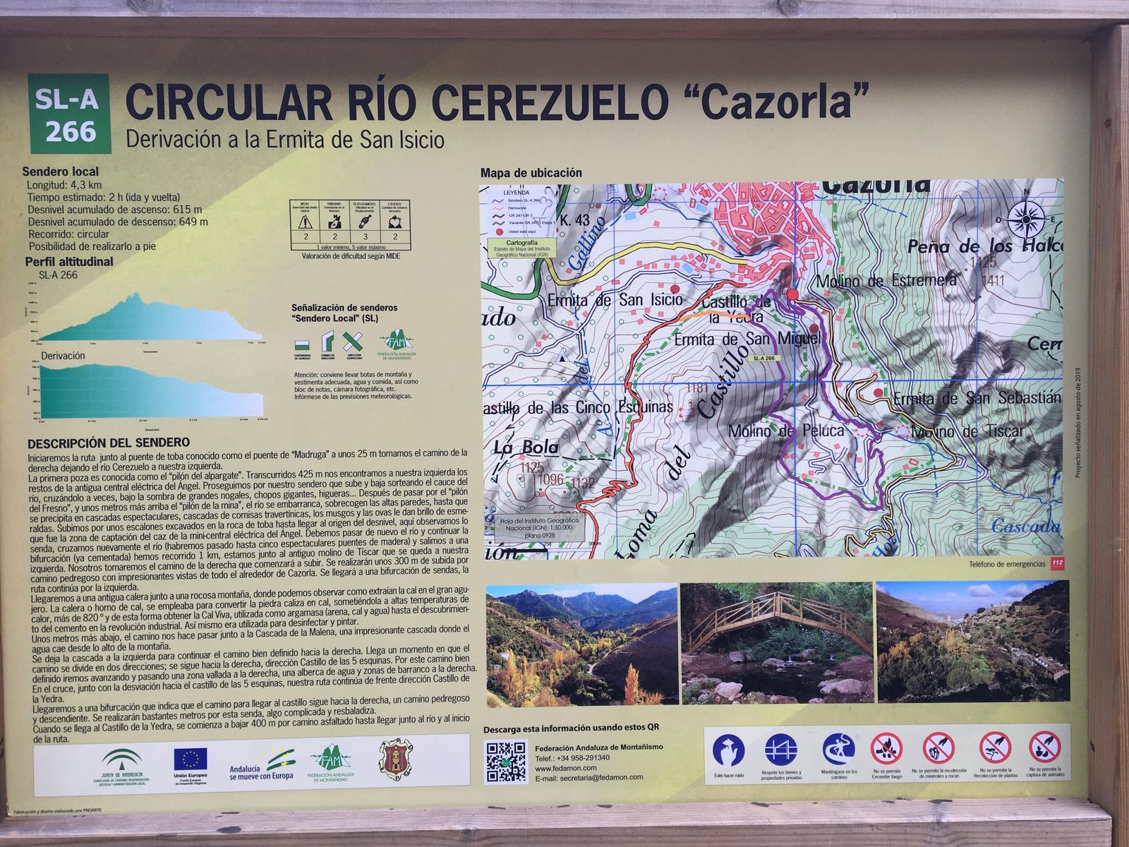 Photo of Circular Río cerezuelo, Cazorla