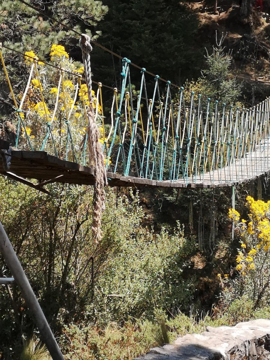 Photo de Puente albergue alpino