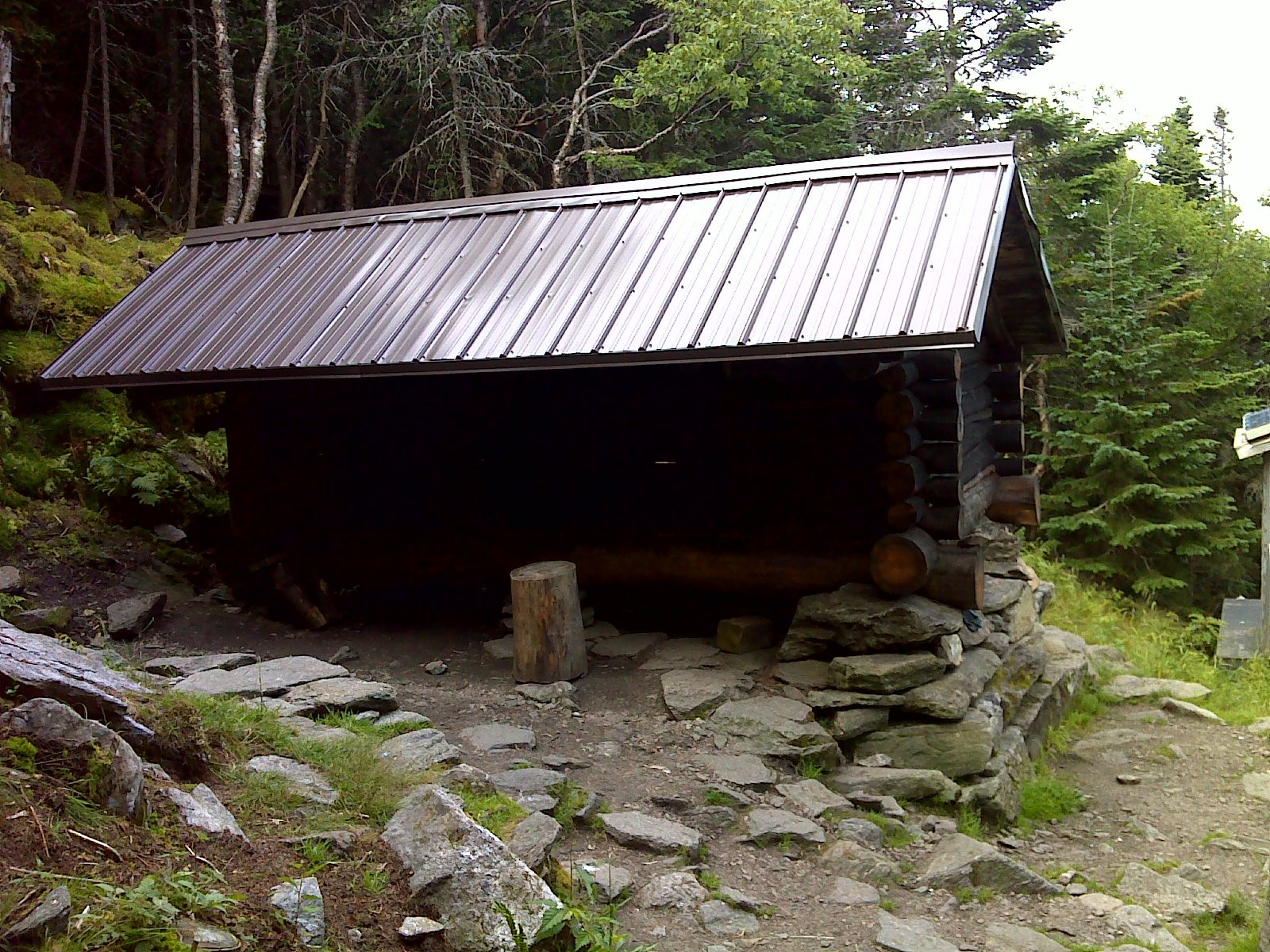 Fotoğraf AT, Pinkham Notch, plus Lost pond trail to Crag Camp, Perch, Log Cabin, and Gray Knob shelters 22-JUL-12 04:37:46 PM