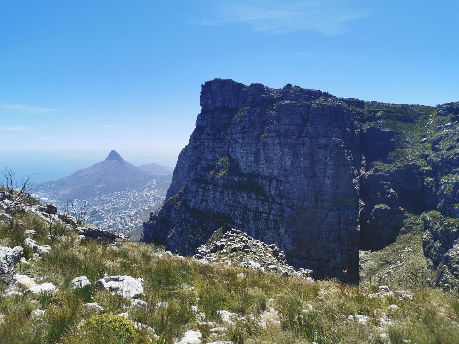Foto di Table Mountain, Three Firs to Grootkop, Cape Town, Western Cape, South Africa.