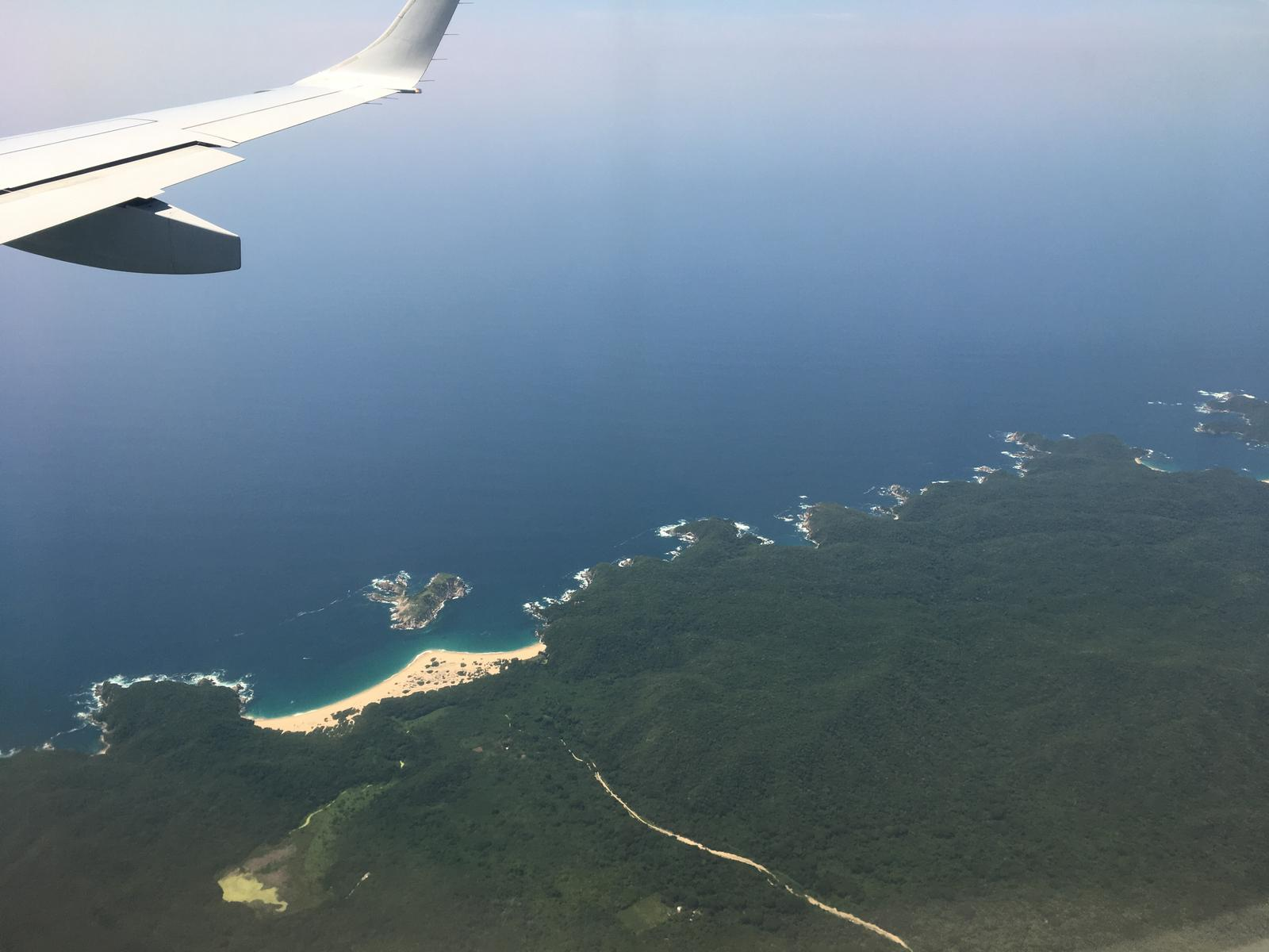 的照片 Huatulco en Avion
